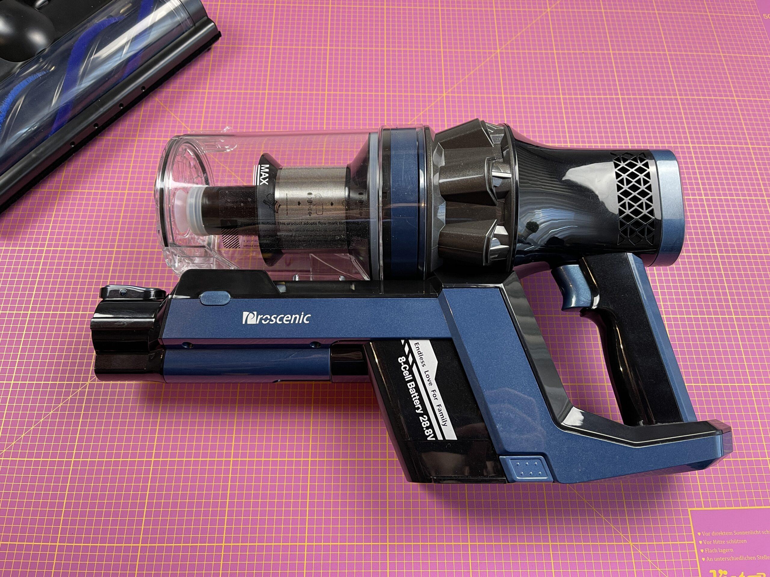 Proscenic P10 Pro corpo motore