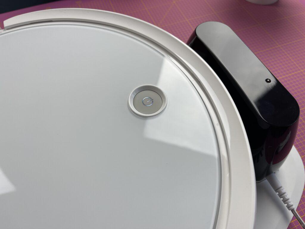 Bissell SpinWave Robot tasto di avvio