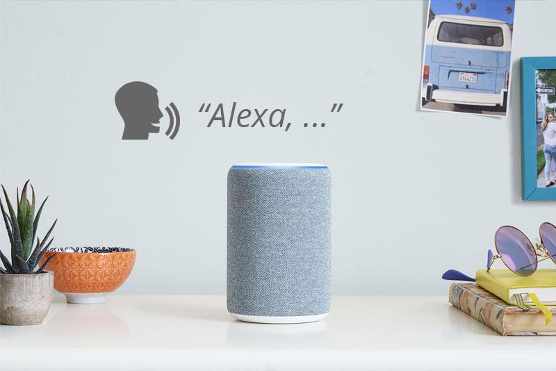 Alexa parola di attivazione