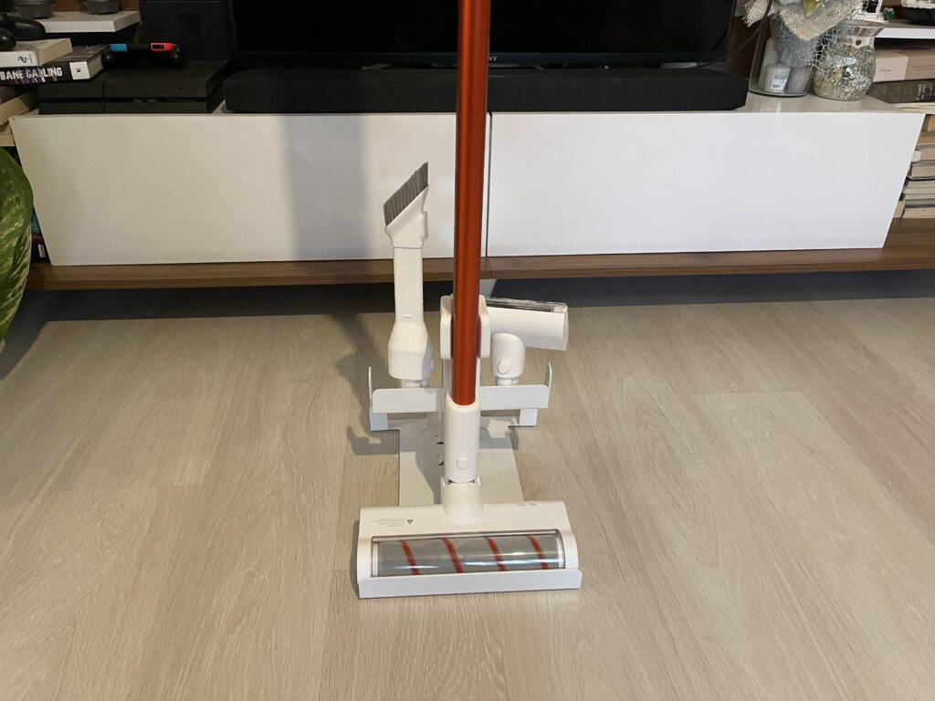 Trouver Power 11 dettaglio della dock con spazzole