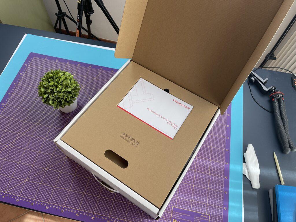 apertura scatola Xiaomi Trouver Finder LDS