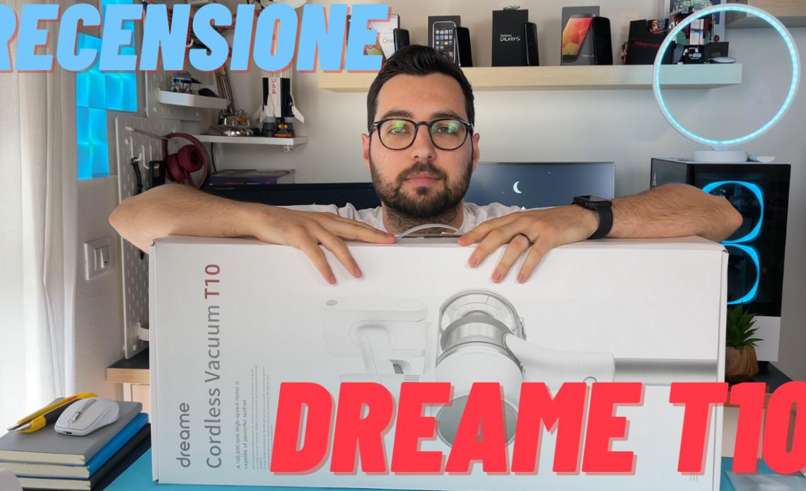 recensione dreame t10