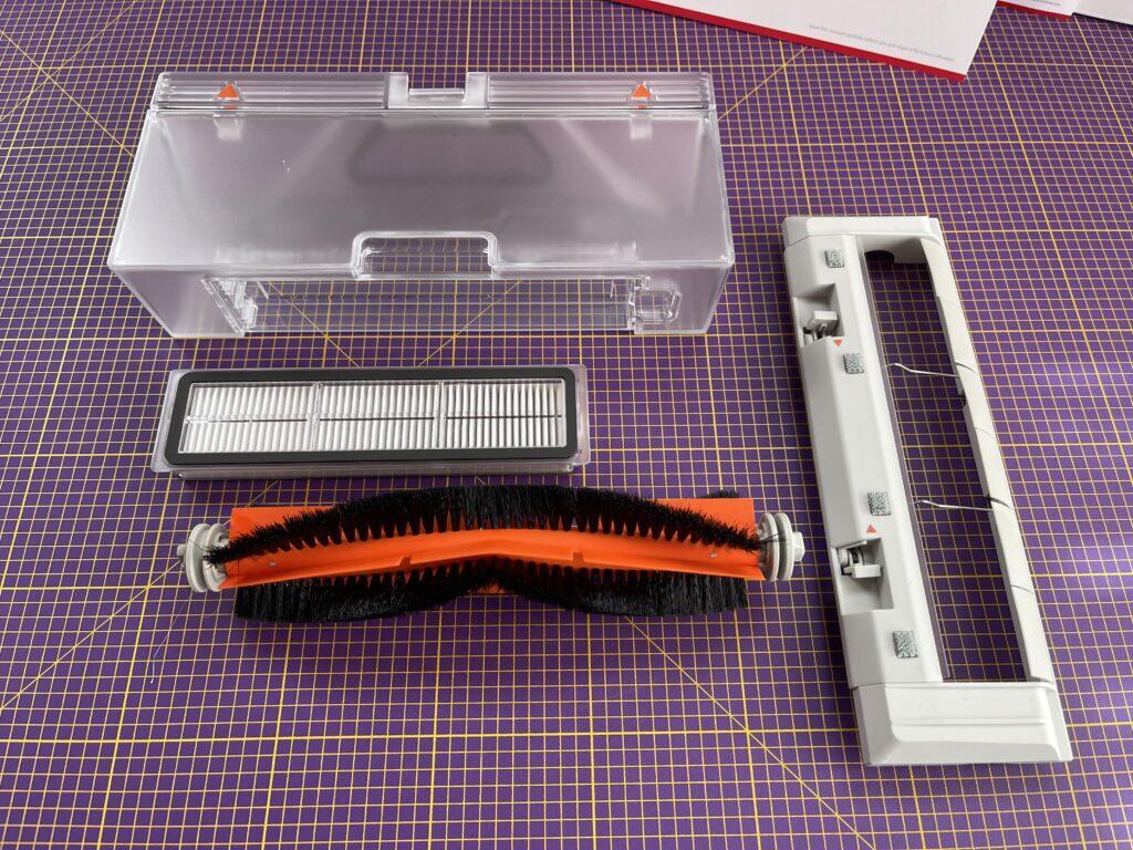 serbatoio, filtro e spazzole di Xiaomi Trouver Finder LDS