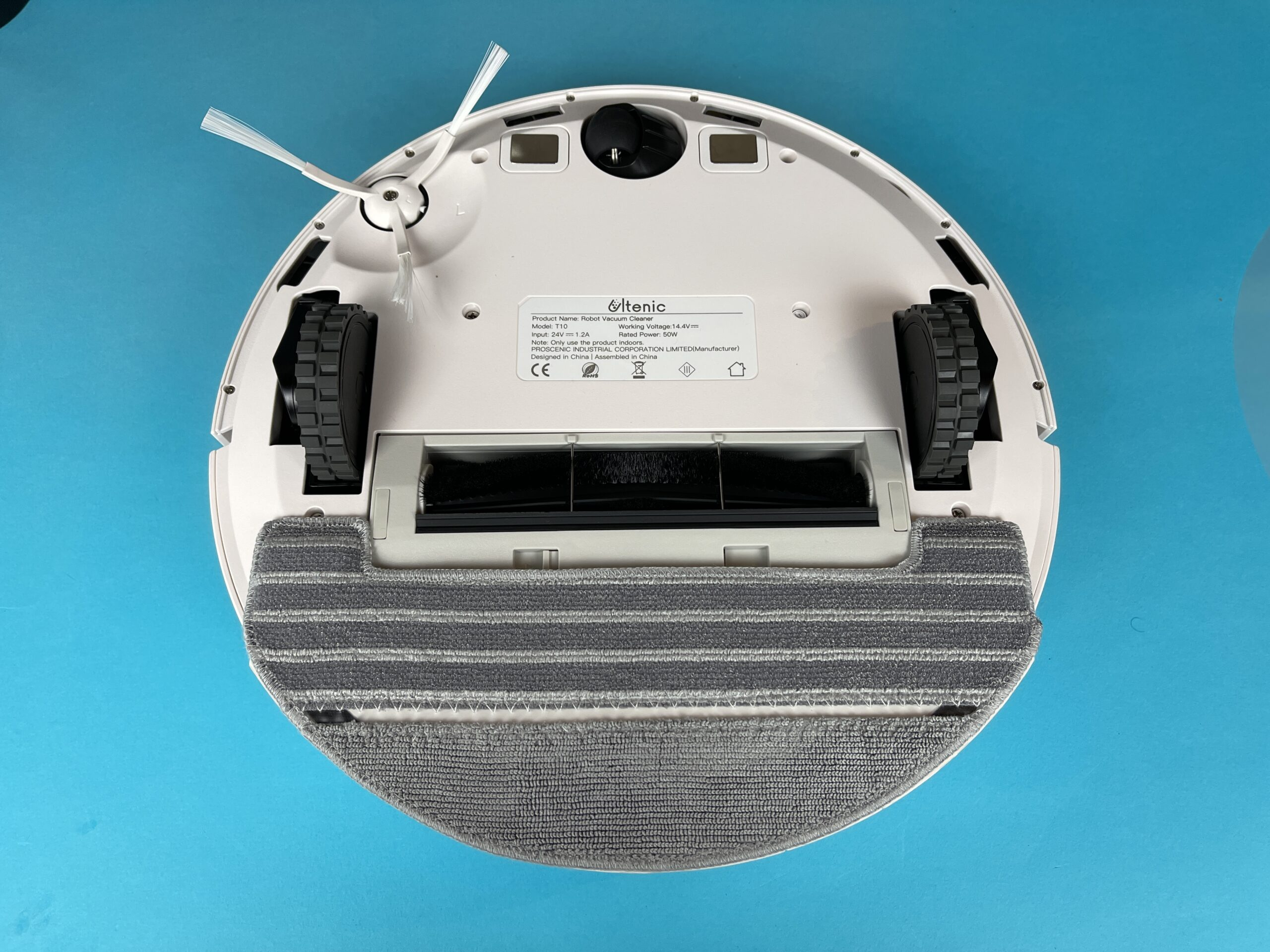 Recensione Ultenic T10 con accessorio lavapavimenti