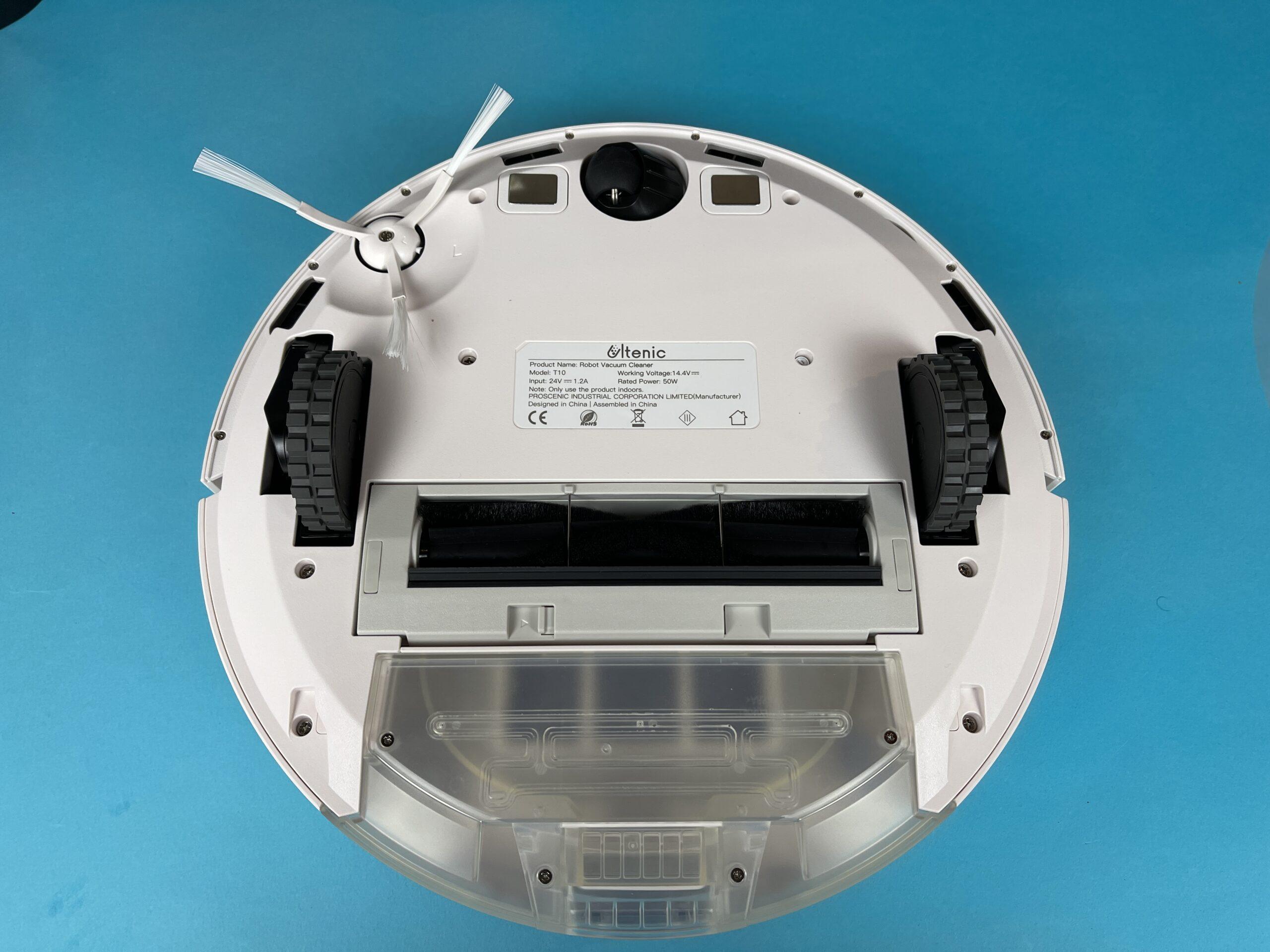 componenti interni e aspirazione Ultenic T10