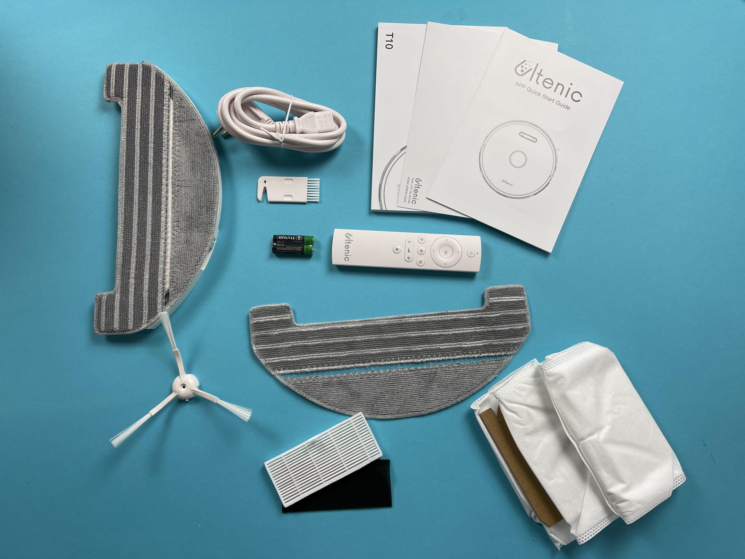 confezione e accessori Ultenic T10