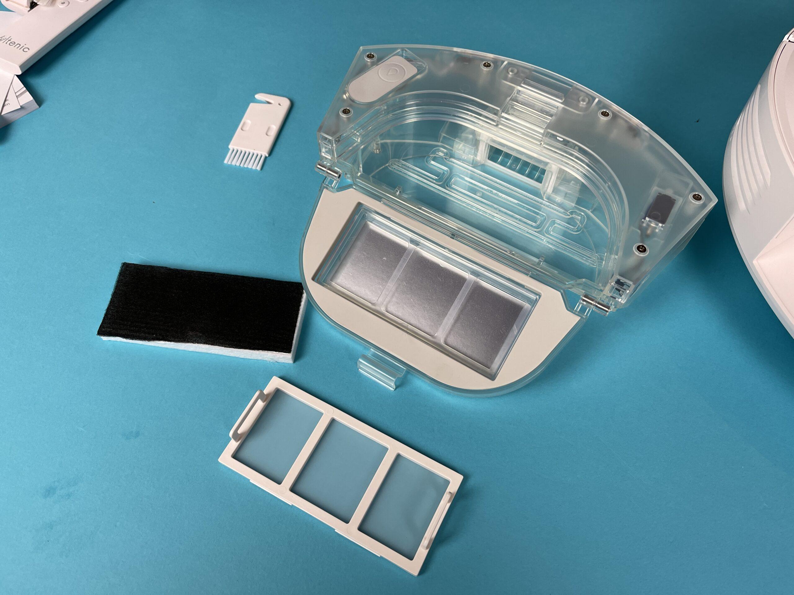 filtro e serbatoio Ultenic T10
