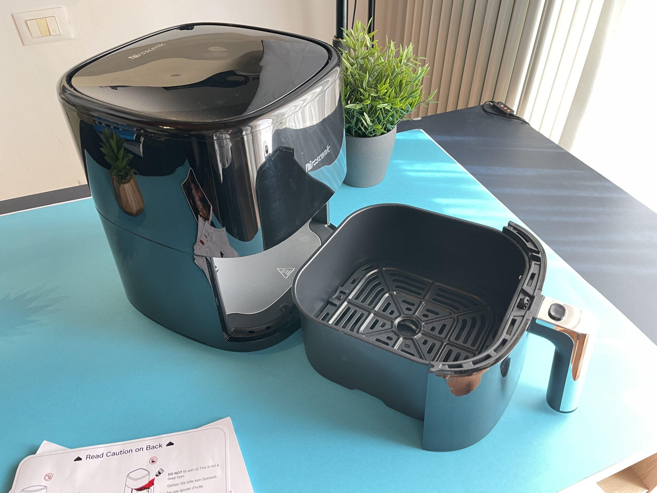 Proscenic T22 friggitrice ad aria cestello con base e materiale antiaderente