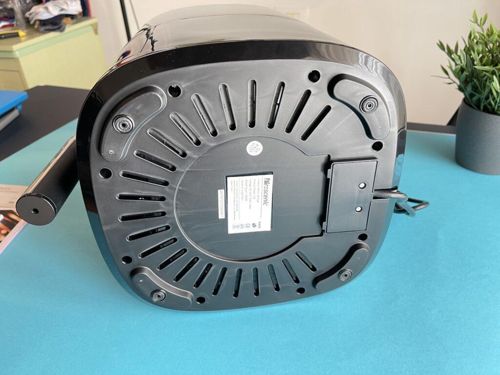 Proscenic T22 friggitrice ad aria lato interno